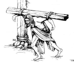 crucifixion carry cross