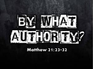 authority matt 21