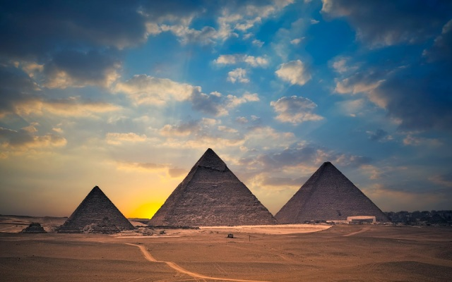 egypt-sunset
