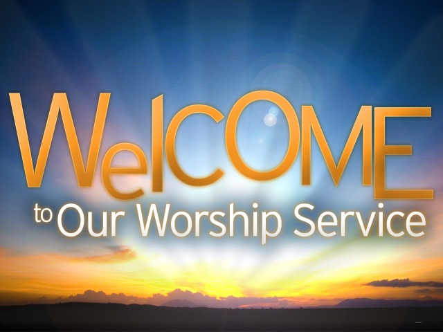 Welcome-to-Worship-Service