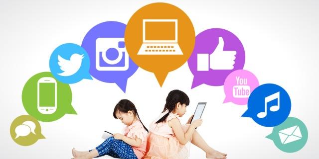 Social-Media-Children