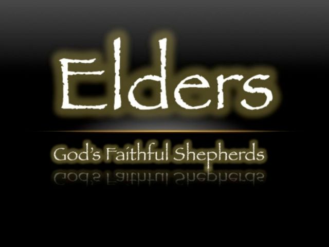 elders shepherds