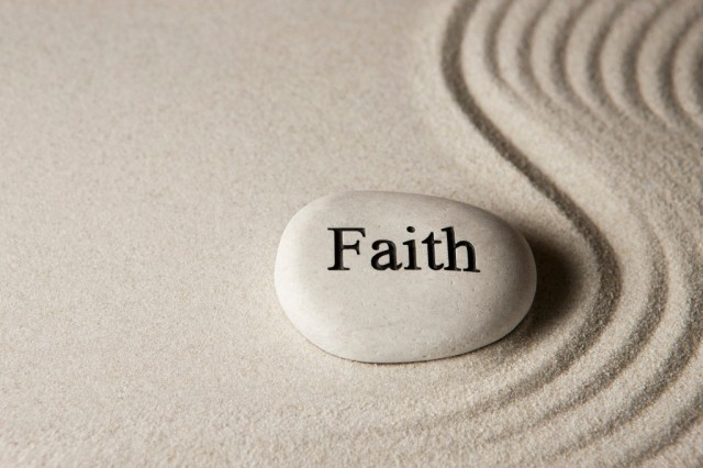 faith pebble