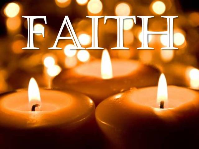 Faith candles