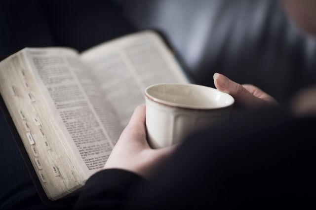 bible reading cup