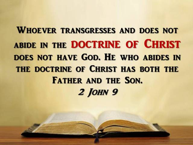 Whoever transgresses and does not abide in the