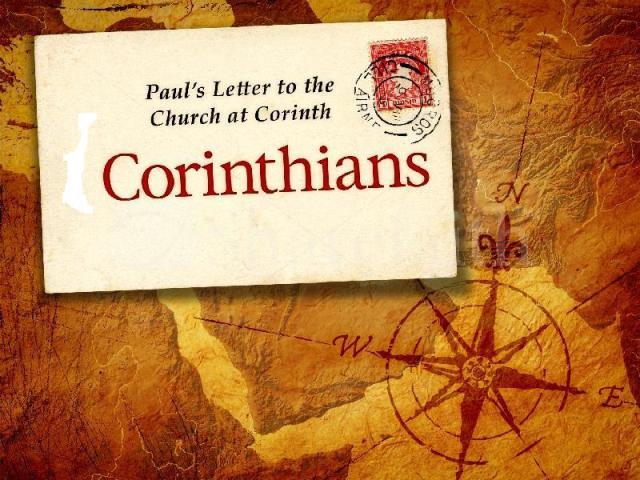 1-corinthians letter