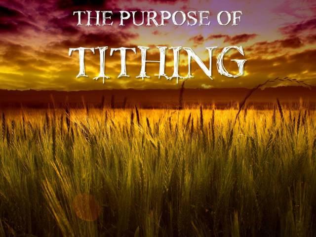 tithing purpose