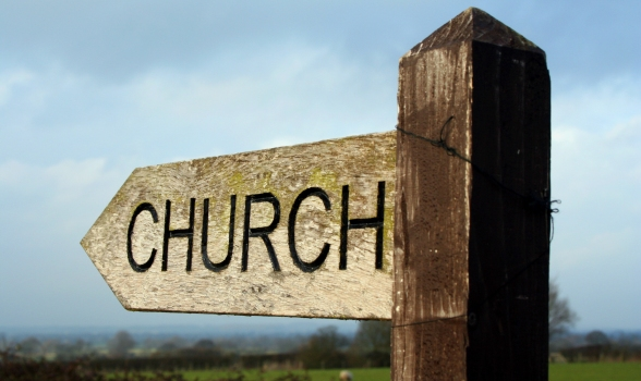 churchsign-wood