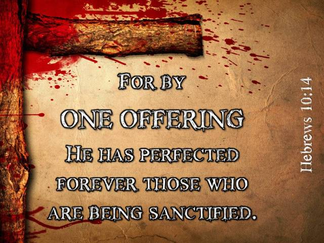 jesus one offering
