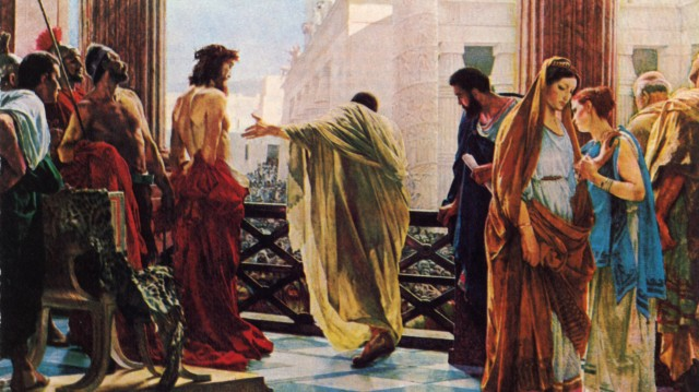 jesus trial pilate
