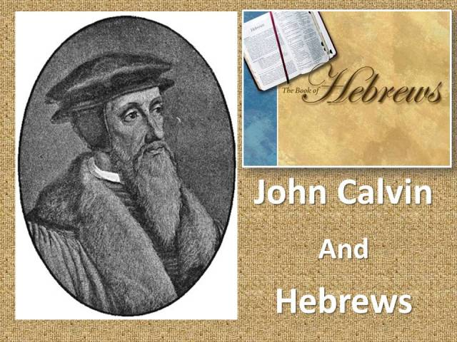calvin hebrews