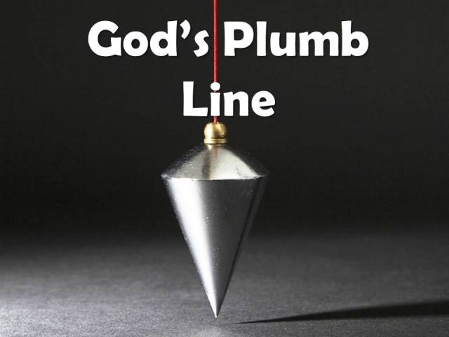 Image result for plumb-line