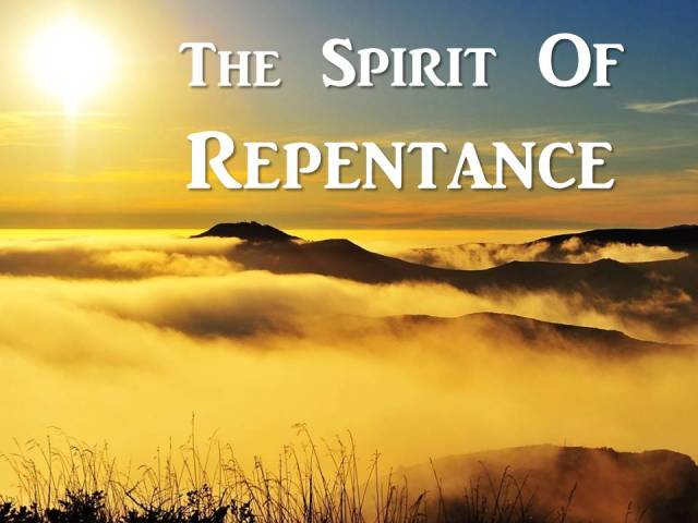 Spirit Of Repentance