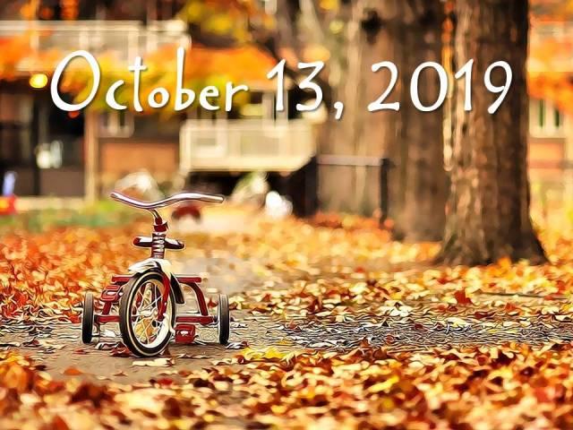 October 13, 2019