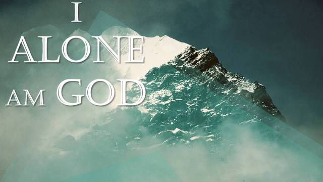Alone God I Am