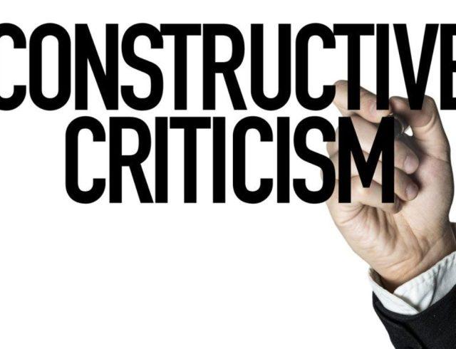 constructive criticism23