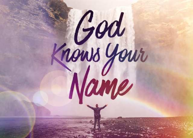 god knows name