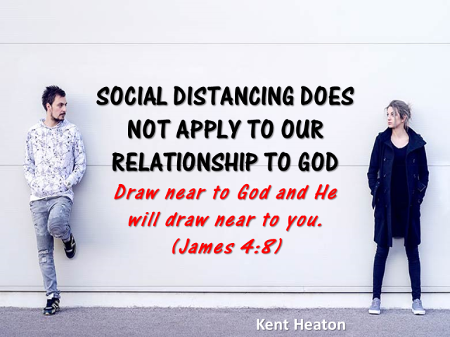 SOCIAL DISTANCING DOES NOT APPLY TO OUR RELATIONSHIP