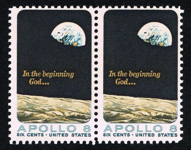 apollo 8 postage stamp