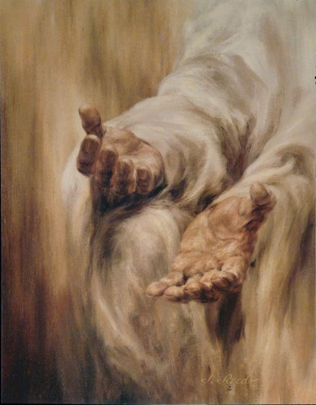 hands Jesus