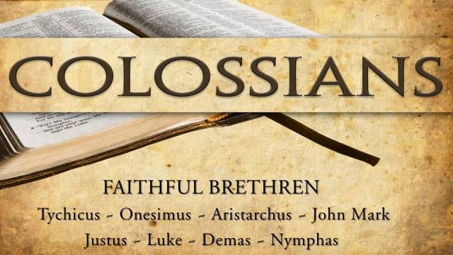 Faithful brethren Colosse